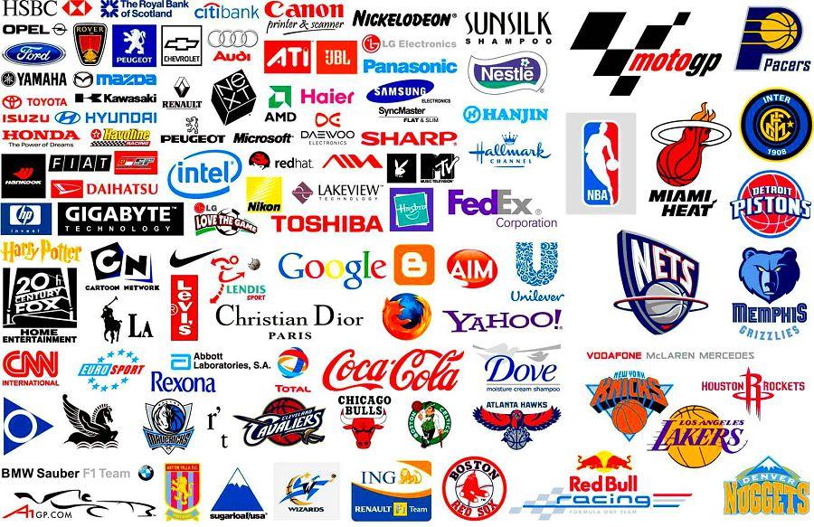 Tennis logos brands