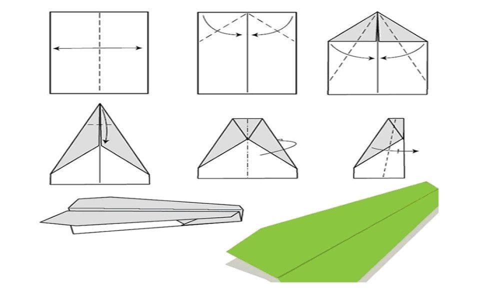 Как сделать кораблики и самолеты из бумаги