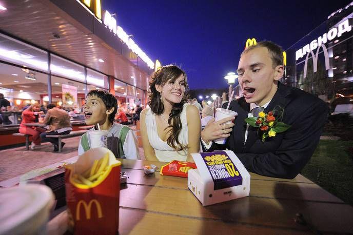 свадьбы мечты макдональдс
