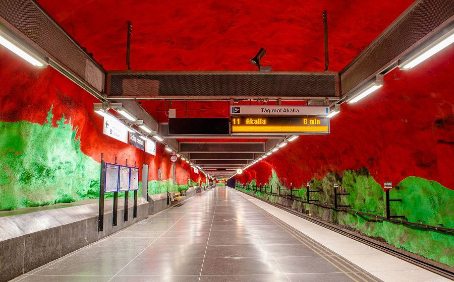 метро стокгольм