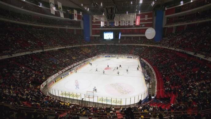 арена для хокея