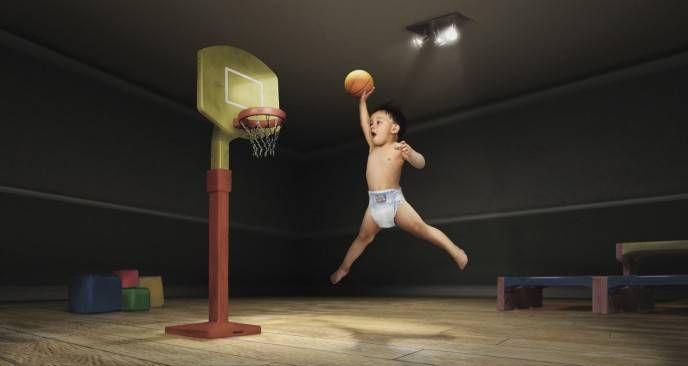 дети баскетбол
