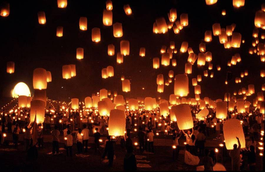 Головокружительный и мега зрелищный фестиваль огней в Таиланде