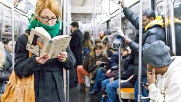 чтение в транспорте