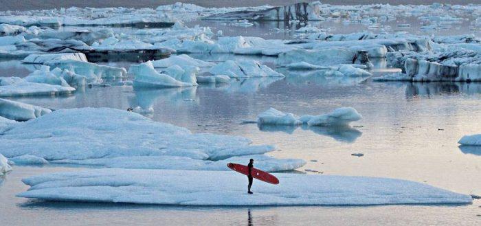 Покорители ледяной волны: сёрфинг на Камчатке