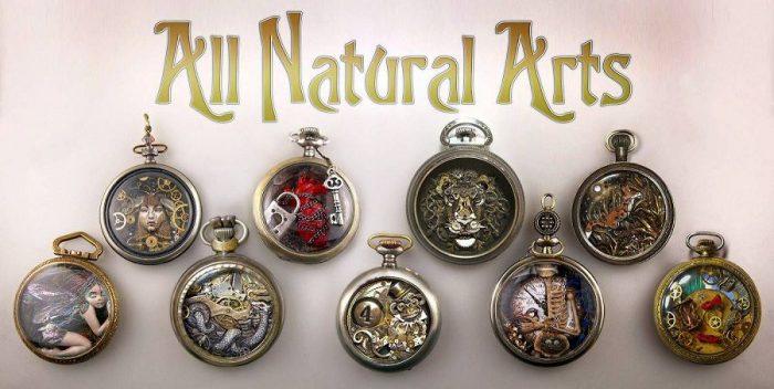 Милые творения из старых винтажных часов