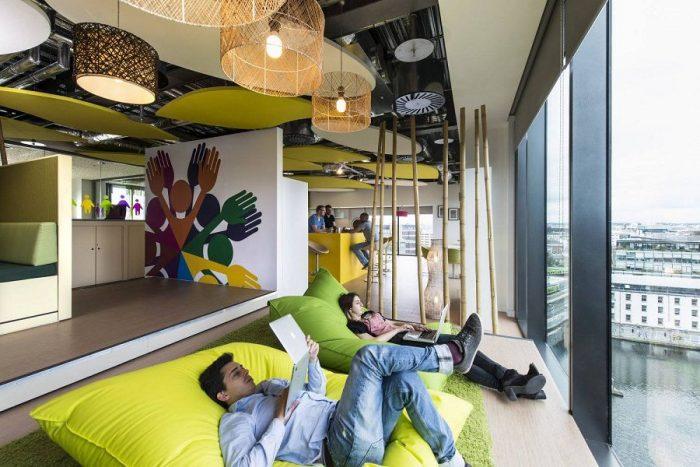 Google Office — офисы, в которых можно жить