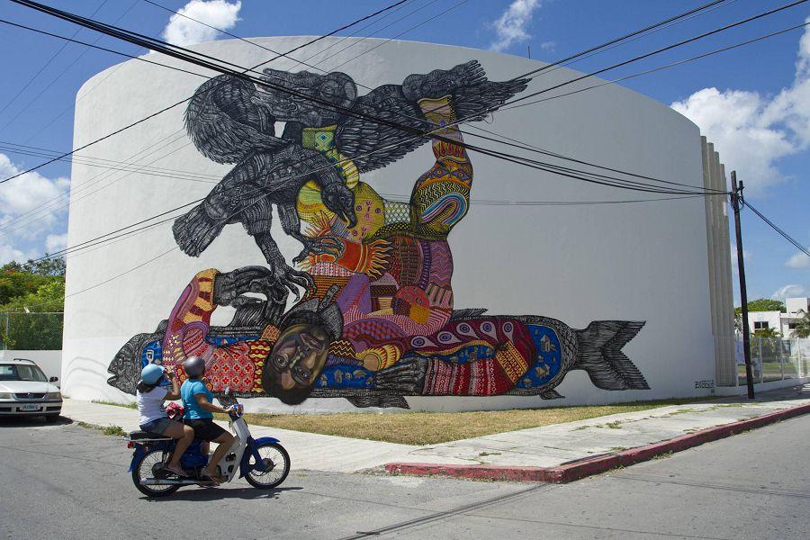 стрит-арт в мексике