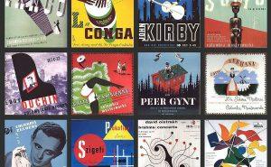 Первые обложки пластинок Алекса Стейнвесса