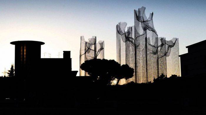Модерн-скульптура: чудеса из проволоки