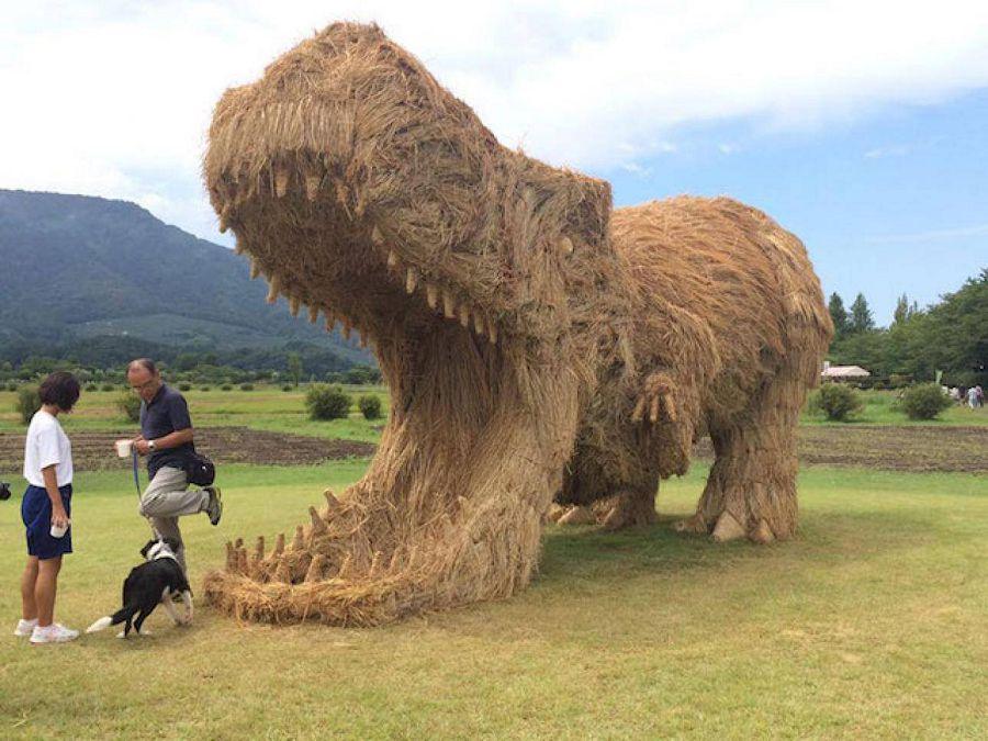 динозавр фестиваль рис япония