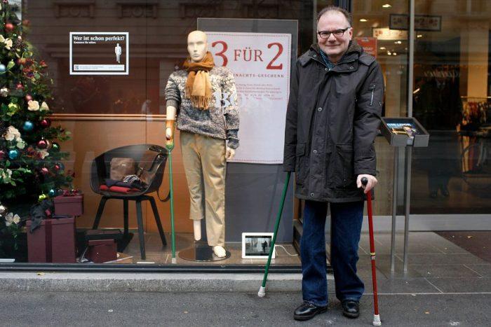 Pro Infirmis создала серию манекенов, схожую на инвалидов