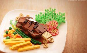 Костас Сандоза: реалистичные Lego-скульптуры