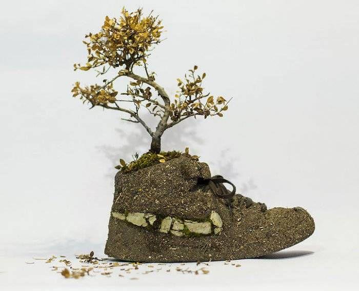 обувь-цветы
