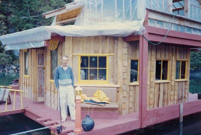 дом на плавучем острове