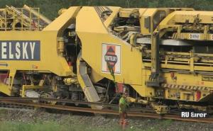 Как проходит укладка железной дороги в Австрии