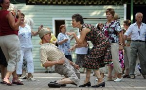 танцы, старики