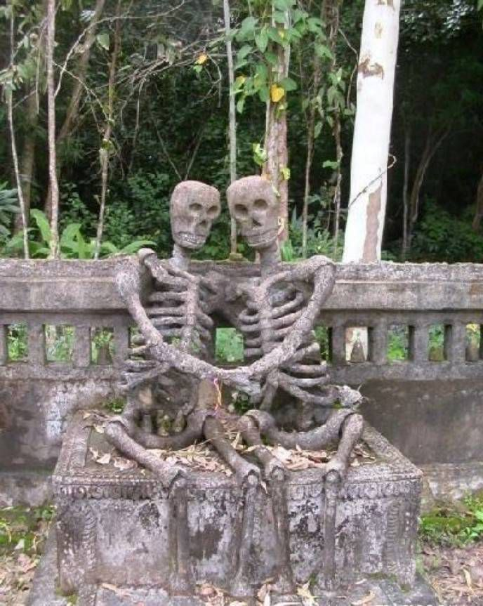 влюбленные скелеты
