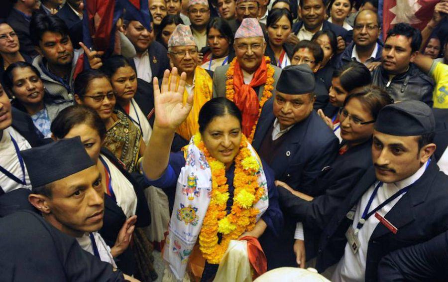 президент Непала женщтна