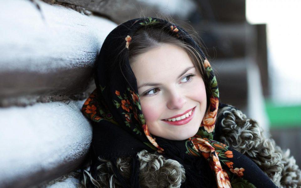 улыбка русской девушки