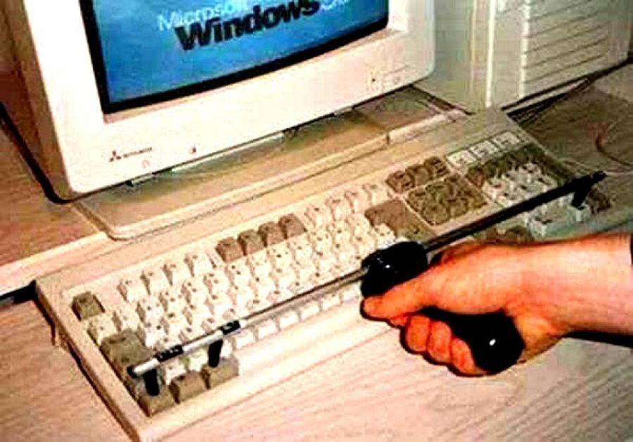 Аппарат для автоматического нажатия Control Alt Delete