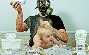 папа с ребёнкомм
