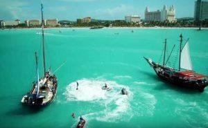Пираты Карибского моря у берегов Арубы