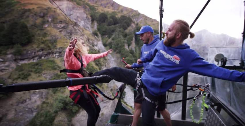 Extreme Bungy Jumping with Cliff Jump Shenanigans2