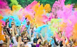 Холи фестиваль — уникальный праздник красок