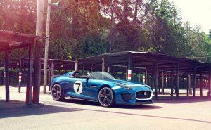 Британский хищник — родстер  Jaguar Project 7