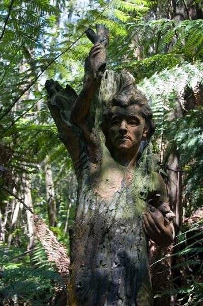 Мистические скульптуры в лесах Австралии 3