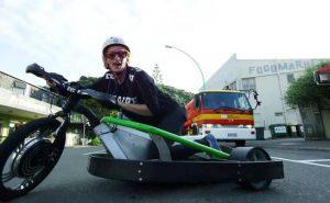 Чумовой дрифт на трицикле