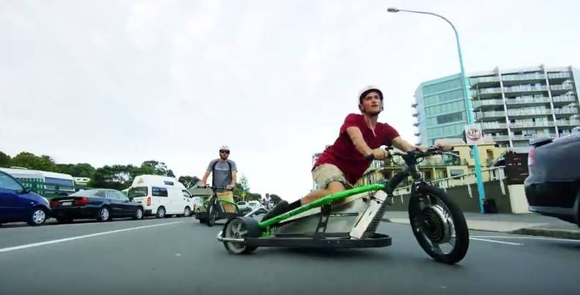 Motorized Drift Trike and Blokart