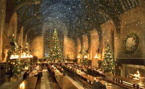 Рождественский ужин в Хогвартсе
