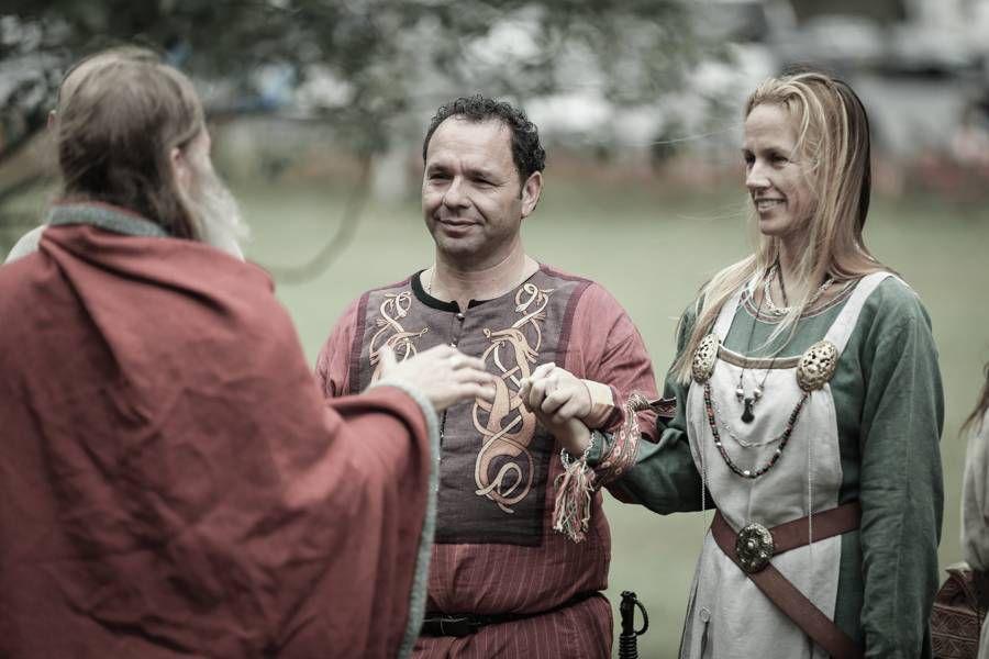 свадьба викингов