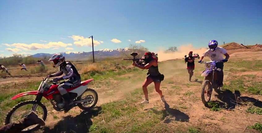 Paintball Warfare - Epic Paintball Battle 4