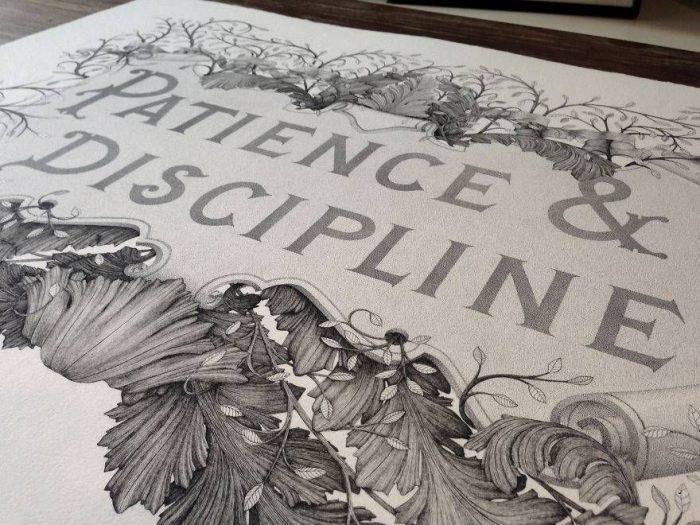 Терпение и дисциплина: шедевр за 300 часов