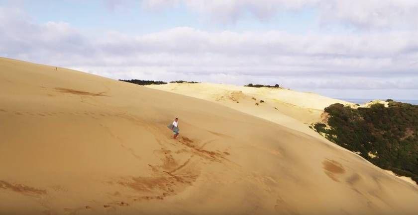 Sandboarding Supertramp Style