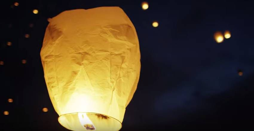 Tangled in Real Life - Lantern Fest