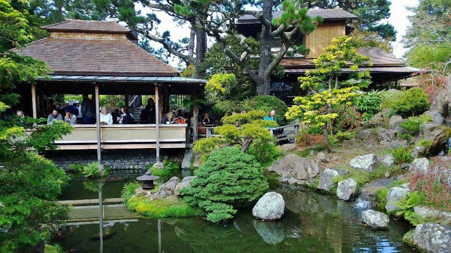японский чайный дом