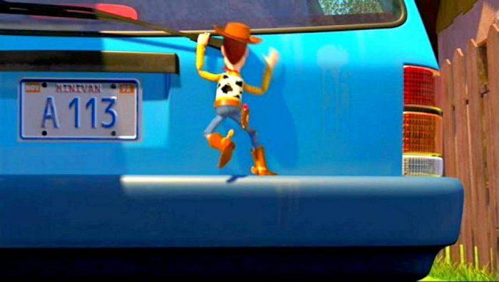 В каждом мультфильме Pixar или Disney появляется номер A113. Почему?