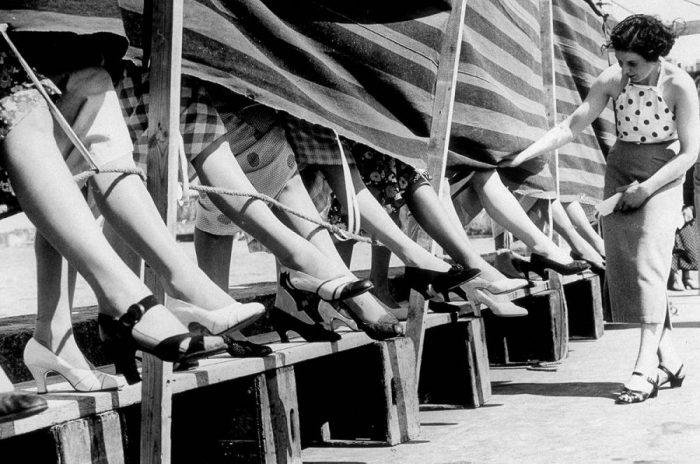 Начало XX века: Мисс очаровательные лодыжки