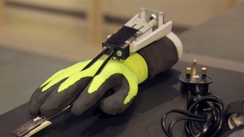 шлифовальные перчатки