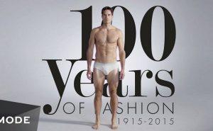 Мужская мода с 1915 по 2015