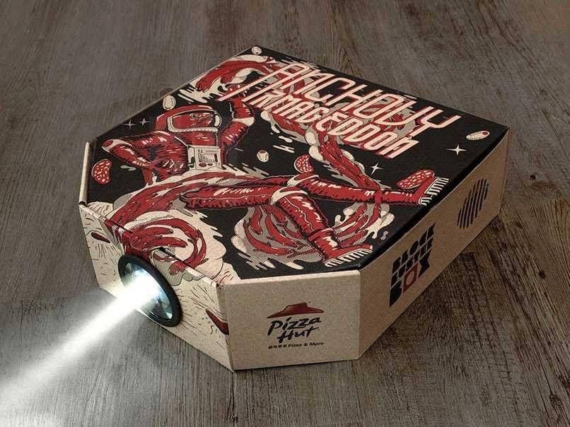пицца-проектор
