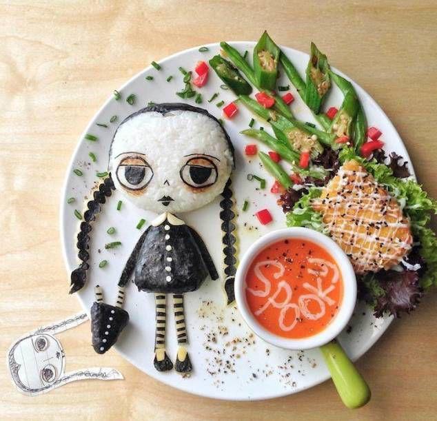 чудеса на тарелке