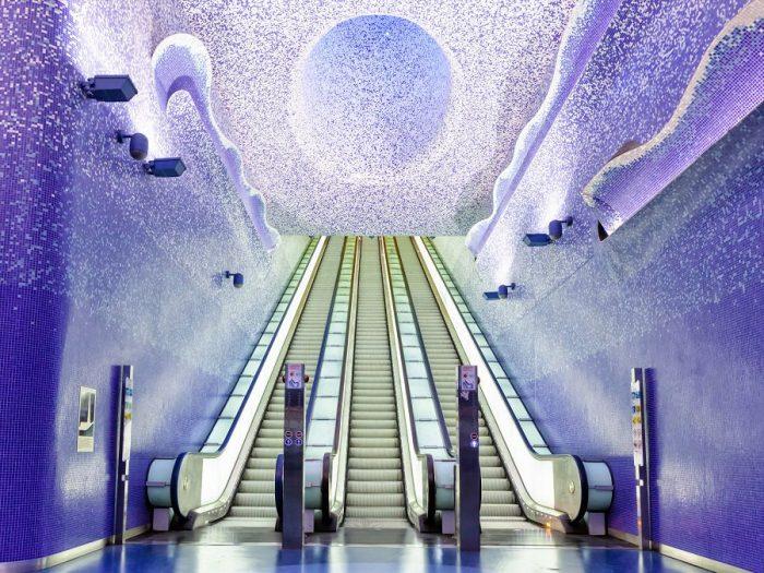 Станции метро — новое поле для искусства