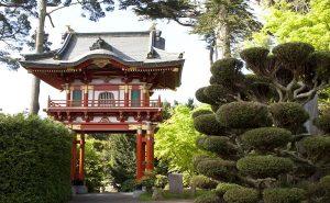 Японский чайный сад
