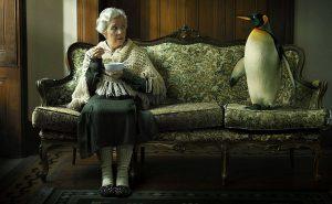 пожилая женщина Кларе Мидмор