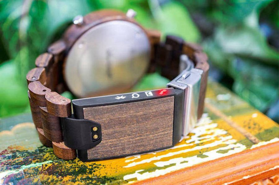 Tokyoflash wood watch